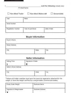 Truck Bill Of Sale Template Word