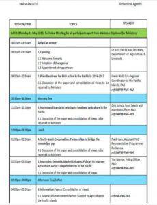 Costum 2 Day Workshop Agenda Template Doc Sample