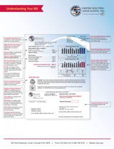 Free Massachusetts Utility Bill Template Word Sample