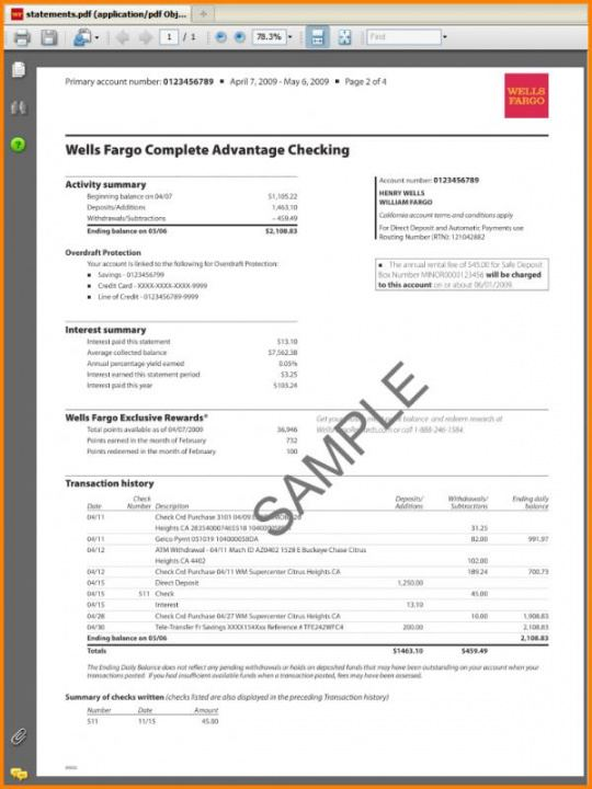 French Utility Bill Template Excel Sample