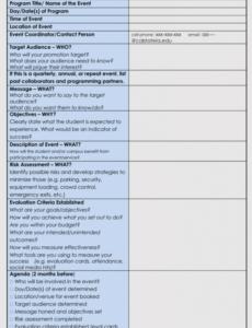 Professional Strategy Workshop Agenda Template Pdf Sample