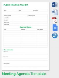 free 13 sales meeting agenda templates in pdf  word sales meeting agenda template word word
