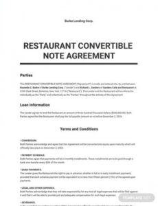 free convertible note agreement template  word doc  google convertible promissory note template pdf
