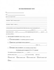 free promissory note template pdf ~ addictionary legally binding promissory note template pdf