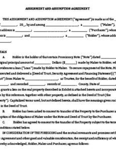 free sample assignment of promissory note in 2020  promissory legally binding promissory note template sample