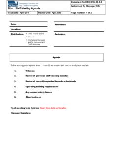 free team meeting agenda outline  how to create a team meeting team meeting agenda template doc