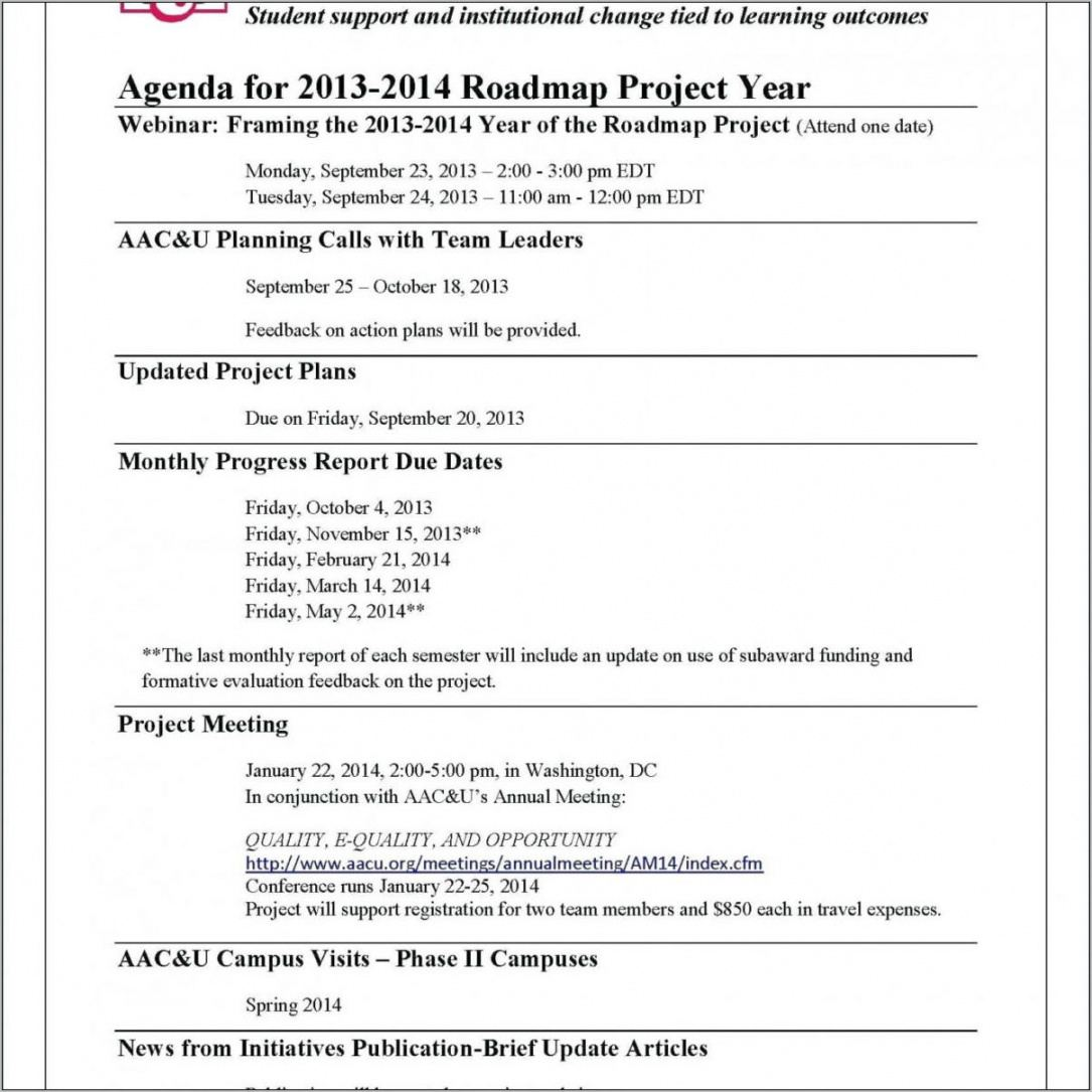 nonprofit governance committee charter template it steering committee agenda template word