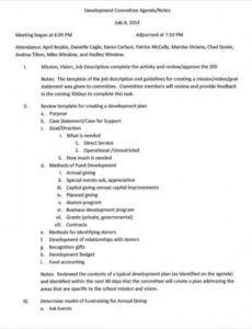 printable 11 sample committee agenda  free sample example format it steering committee agenda template pdf