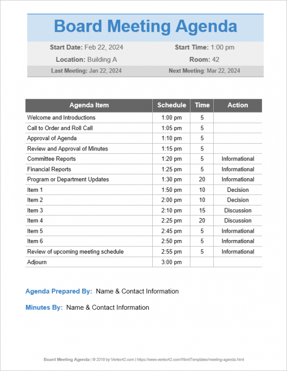 printable meeting agenda template google doc  collection  letter sales meeting agenda template word example