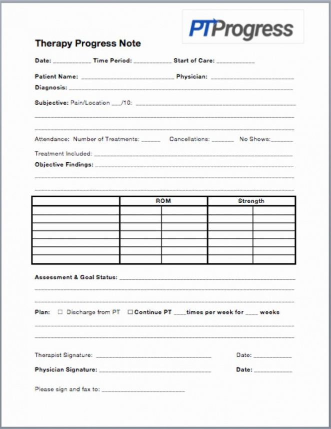 sample physical therapy daily notes templates best of how to speech therapy note template excel